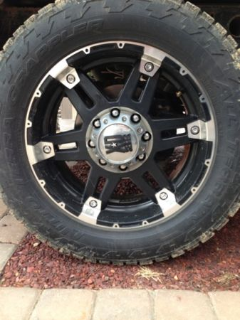 20quot XD Spy rims on Nitto Terra Grappler tires - $2000 (Covington)