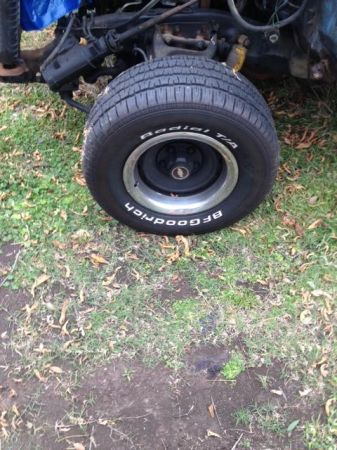 c10 rally wheels with brand new tires - $500 (belle chasse )