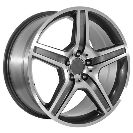 Mercedes Benz 20 Inch Gunmetal with Machined Accents Rims Tires - $2000 (New Orleans)