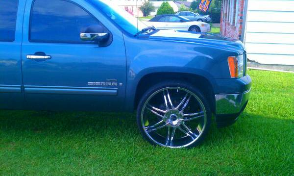28 inch Onyx Rims - $1300 (New Orleans)