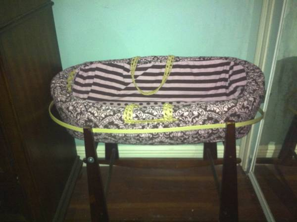 Jolly Jumper Moses Bassinet (other baby items) - $95 (Kenner)