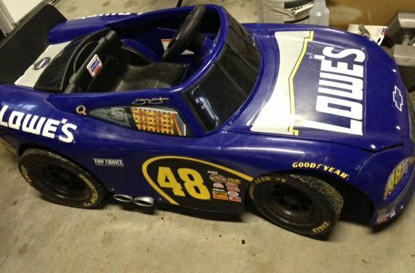 Blue Nascar Power Wheel - $90 (Slidell)