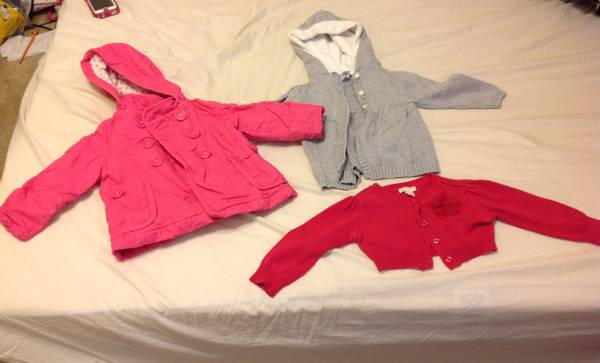 Baby Girl Clothes FallWinter 18-24 months - $60 (Slidell or Chalmette)
