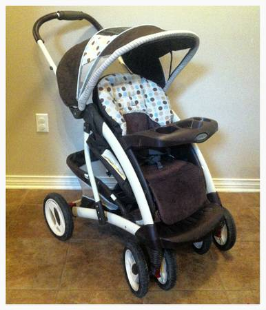 Graco Metrolite Travel System Purple And Black