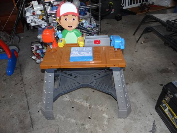 Handy Manny Tool Bench and Parts   -   x0024 45  Slidell  LA