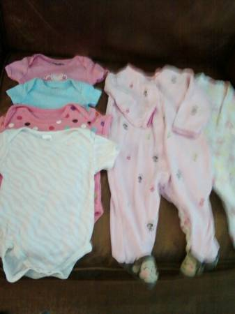 NEWBORN TO 3 MONTHS CLOTHING -   x0024 10  METAIRIE