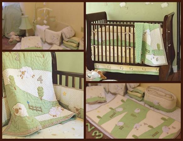 COMPLETE BEDDING FOR YOUR BABY - Pottery Barn Kids Nursery Bedding Set - x0024150