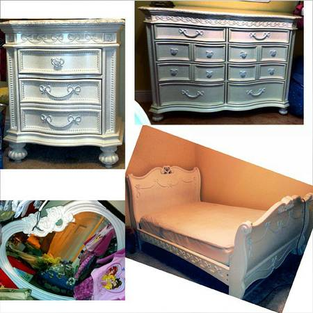 Never Used Disney Princess Girls Bedroom Set - $2000 (Meraux, LA)