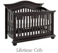 Baby Cache Heritage Lifetime Crib Espresso - x0024280 (Lakeview)