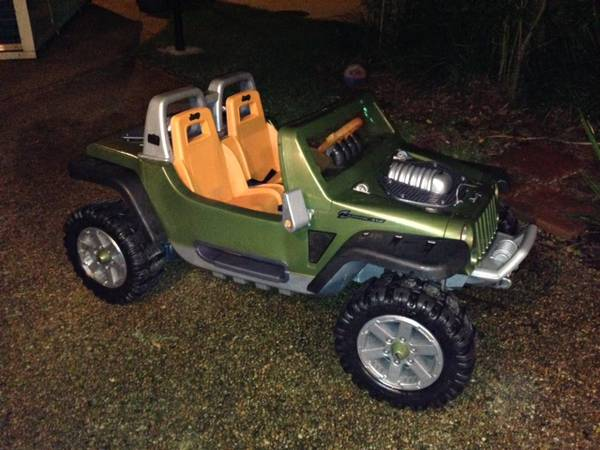 Jeep Hurricane Power Wheels - $200 (Metairie)