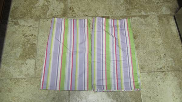 2 Pottery Barn Kids Valances - $12