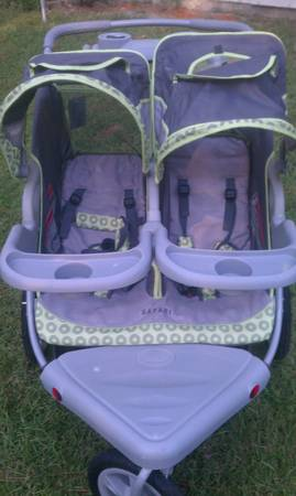 InStep Safari Double Jogger Stroller- gently used - $125 (Slidell, Northshore)