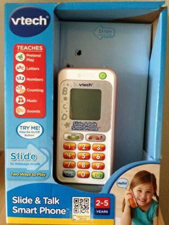 VTech Slide  amp  talk Smart Phone -   x0024 12  Metairie
