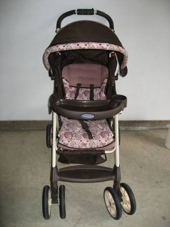 Pink Graco Stroller For Sale