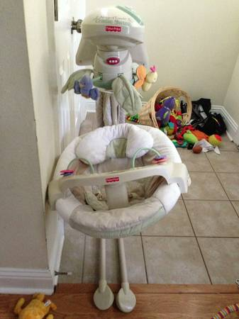 Fisher price Natures Touch Cradle Swing - $40
