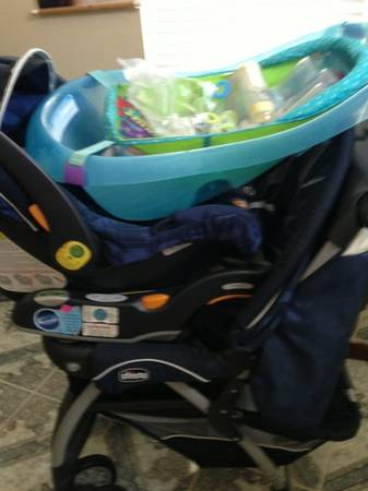 NEW BOY STROLLER CARSEAT SET - $150 (New Orleans z)