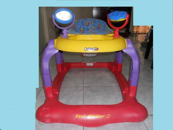 Kolcraft - Tot Rider 2 Baby Walker - $15 (New Orleans (Lakeview))