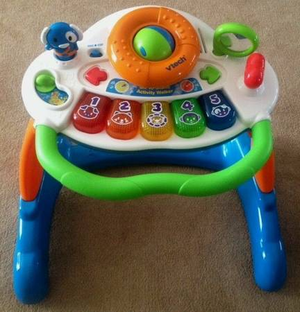 VTech Sit to Stand Activity Walker Music Lights n Sounds -   x0024 15  New Orleans