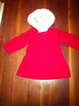 Christmas coatdress, bassinets, baby items (Kenner)