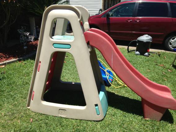 Large outdoor Step 2 Slide - $40 (Laplace)