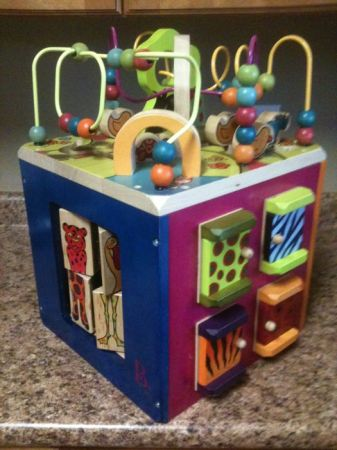 Zany Zoo Wooden Activity Cube - $25 (Picayune)