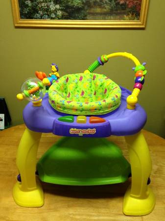 Bright Starts Bounce Bounce Baby Safari Theme - $20 (LaPlace)