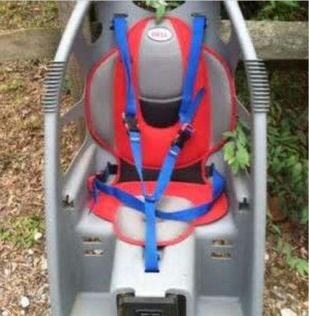 Bell child cocoon bike seat  - $30 (Laplace)