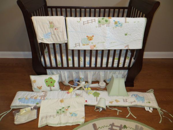 Pottery Barn Kids Bed, Bedding, Changing Table, and more... (Metairie, LA)