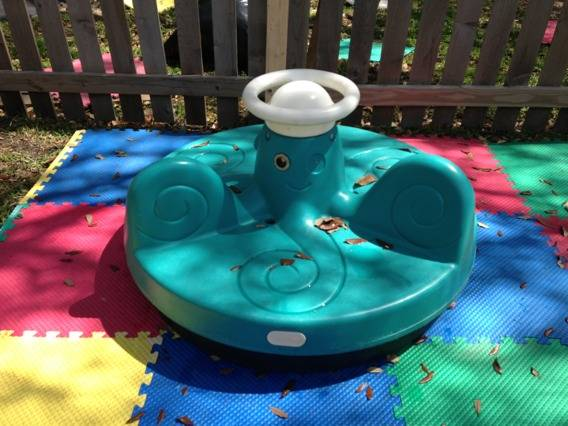 Little Tikes Octopus Merry Go Round HTF-Discontinued - $125 (LaPlace)