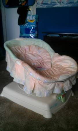 FISHER PRICE SOOTHING MOTIONS GLIDER - $15 (Slidell)