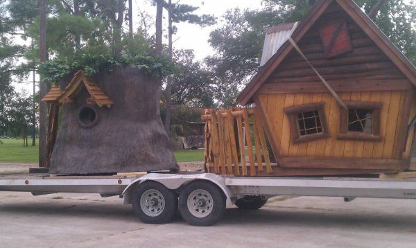 EXTREME WESTERN TREEHOUSE CUSTOM - $4650 (NEW ORLEANS)