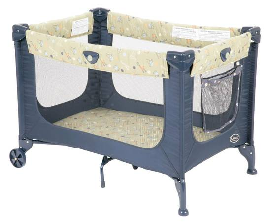 Cosco Funsport Pack n Play Play Yard Safari Animal designnavy taupe - $40 (Metairie )