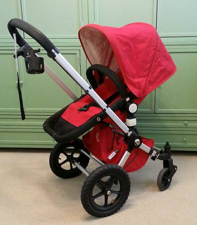 Red Bugaboo Frog Stroller For Sale