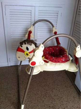 Galloping Fun Horse Jumperoo - $20 (Gretna)