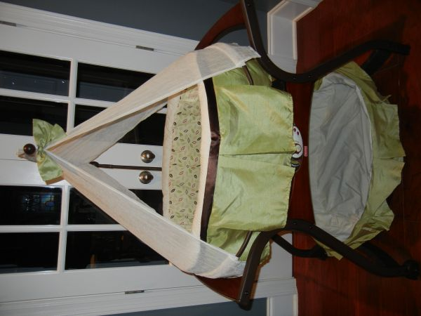 Fisher Price Zen Collection Bassinet - $100 (Harvey)