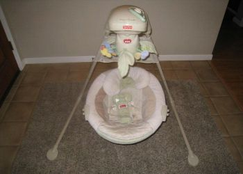 Fisher Price Natures Touch Cradle Swing Bright Starts Baby Bouncer - $30 (Metairie)