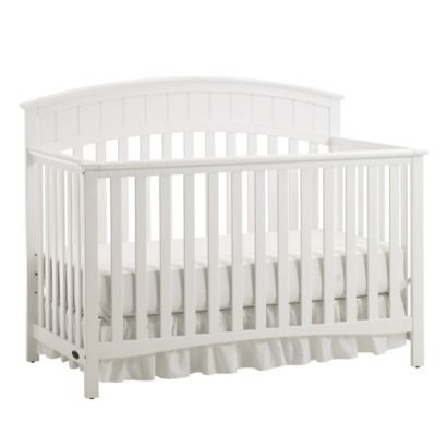 Graco Charleston White Baby Crib with Mattress - $100 (LaPlace)