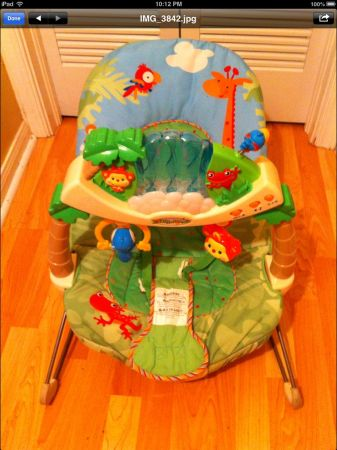 Fisher Price bouncer-rainforest  - $25 (Metairie)
