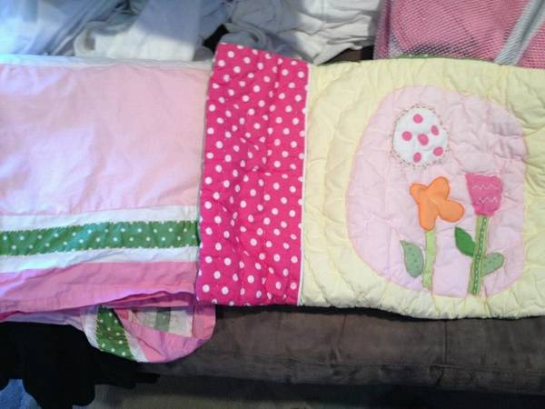 Pottery Barn Kids Baby Girl Bedding (cutest collection EVER) - $150 (New Orleans)