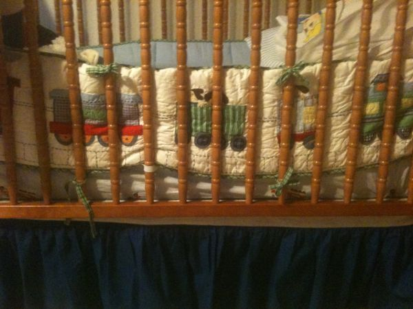 Pottery Barn Kids Crib Bedding for Sale - $100 (Metairie)