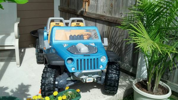 Power Wheels Ride On Jeep Hurricane - $200 (Belle Chasse)