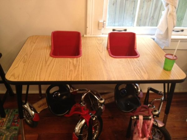 Step-2 Slide and TwinTable High Chair - $50 (New Orleans)