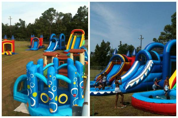 KLH- Water Slides - Combo Units - $150 (New Orleans Surround Areas)
