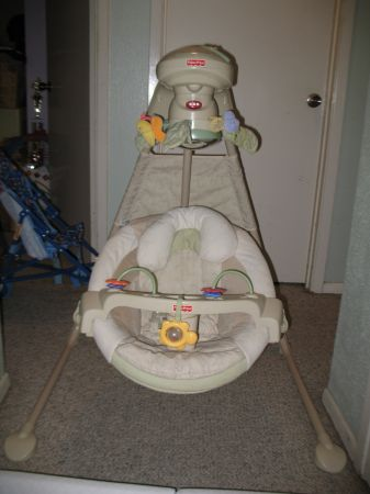 Fisher Price Natures Touch Cradle Swing - $30 (Westbank)