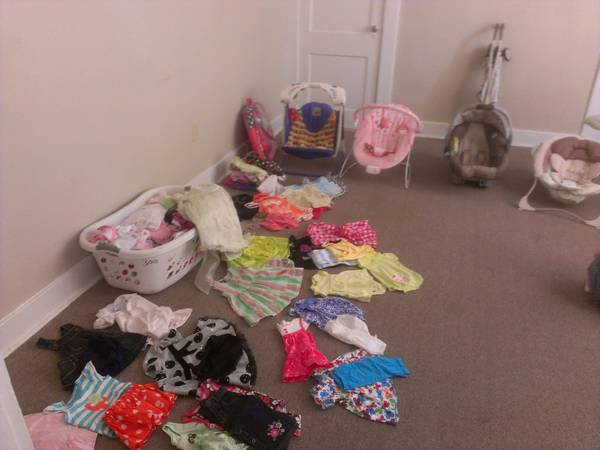 BRAND NAME clothes, swing, Medela Breast Pump (Uptown New Orleans)