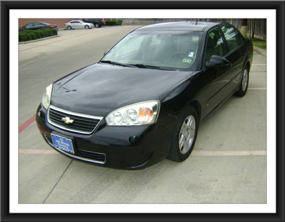 2007 Chevrolet Malibu LT Black - Clean Title Smooth Drive Must See - $3999 (Galleria Area)