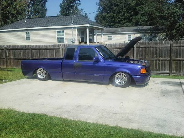 bagged 95 ford ranger - $1500 (slidell)