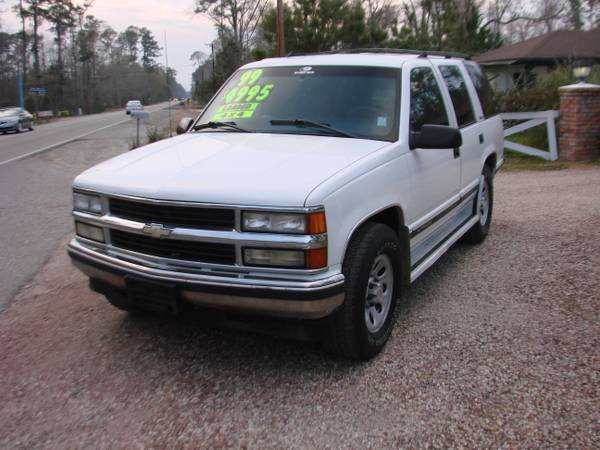 1999 Chevrolet Tahoe LS 4X4 - MUST SEE - $4500 (LACOMBE)