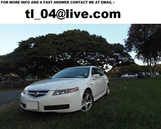 Automatic 2004 Acura TL 65,527 miles3.2L - $1800 ( new orleans )