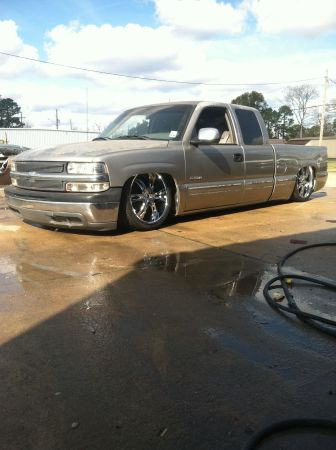 2000 Chevy Silverado Bagged - $7500